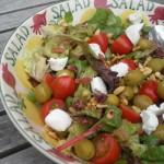 Salade met geitenkaas & Sauvignon Blanc
