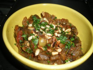 caponata en koolraap 001