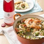 Paella Marinara & Tavel rosé