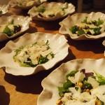 Courgettesalade met hazelnoten & Verdicchio di Matelica