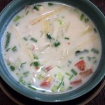 Tom Kha Kai soep & Pinot Gris
