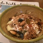 Mijn lievelingsontbijt: vers fruit met zelfgemaakte Granola!