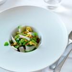 Snijboon à la carbonara van chef-kok Niven Kunz & Gavi