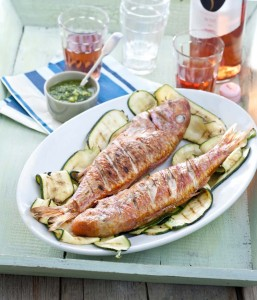 Gall BBQ Red Mullet